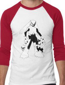 Torchic Evolution Line Men's Baseball ¾ T-Shirt