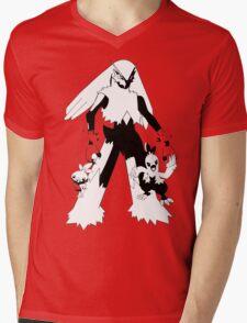 Torchic Evolution Line Mens V-Neck T-Shirt