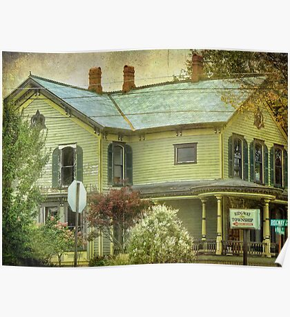 A Historical House Poster