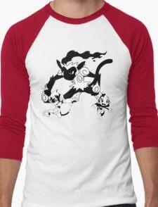 Chimchar Evolution Line Men's Baseball ¾ T-Shirt