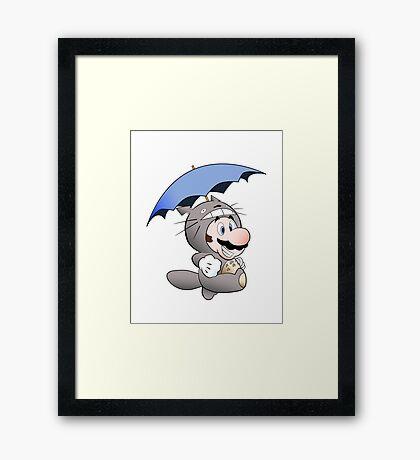 My Neighbor Mario Framed Print