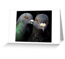 Whispering Sweet Nothings Greeting Card
