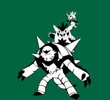 Chespin Evolution Line Unisex T-Shirt