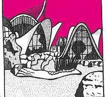 Valencia in pink by Emma Bennett