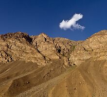 View of Afghan mountains by alekseigl
