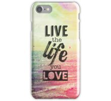 Live Life Love iPhone Case/Skin