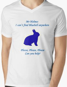 I Can't Find Bluebell Anywhere Mens V-Neck T-Shirt