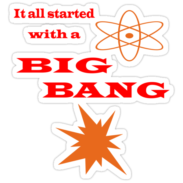 Started with a Big Bang  by CreativeEm
