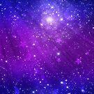 Blue and Purple Sky  by KarterRhys