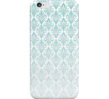 Light Blue Vintage Pattern iPhone Case/Skin