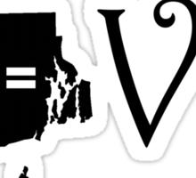 RHODE ISLAND L-VE Sticker