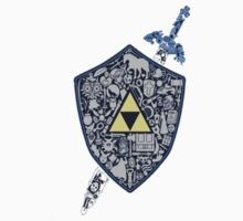 Legend of Zelda Shield by muffinman7779