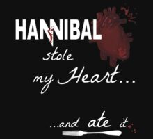 Hannibal Lecter stole my heart.... and ate it.  by FandomizedRose