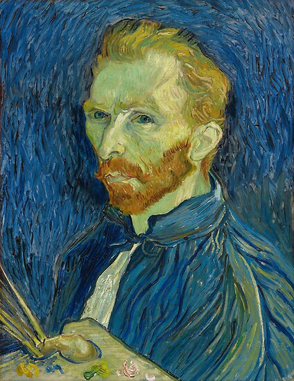 Vincent van Gogh - Self-Portrait by TilenHrovatic