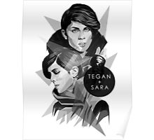 Tegan and Sara Poster