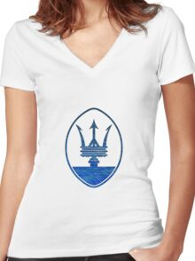 Trident Women's Fitted V-Neck T-Shirt