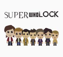 SupercuteWhoLock T-Shirt