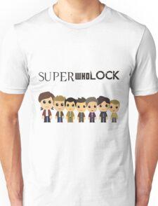 SupercuteWhoLock Unisex T-Shirt