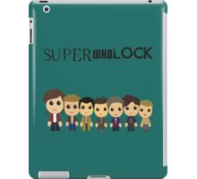 SupercuteWhoLock iPad Case/Skin