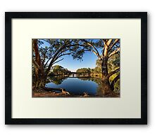 The Tranquil Bogan River  Framed Print