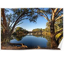 The Tranquil Bogan River  Poster