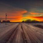 Prairie Road Dawn 814414 by Ian McGregor