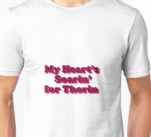 My Heart's Soarin' for Thorin - pink Unisex T-Shirt