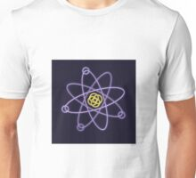 Glowing Atomic Structure Unisex T-Shirt
