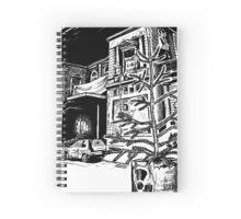Schanzenweihnacht - Die rote Flora Spiral Notebook