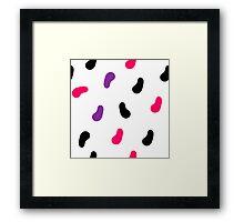 Jumpin Beans Framed Print