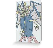 Elder Thing Greeting Card