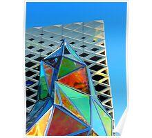 Glass Sculpture Poster