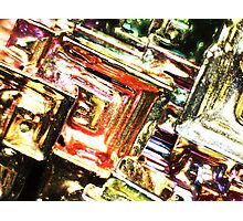 Bismuth Angle Photographic Print