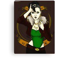 Lady Loki Canvas Print