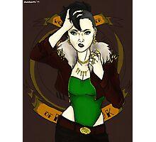Lady Loki Photographic Print