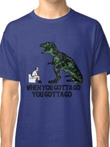 Jurassic T-REX Bathroom Classic T-Shirt