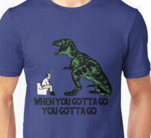 Jurassic T-REX Bathroom Unisex T-Shirt