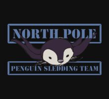 Penguin Sledding Team Kids Clothes