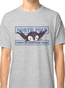 Penguin Sledding Team Classic T-Shirt