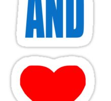 KEEP CALM AND LOVE DANTDM Sticker