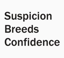 Suspicion Breeds Confidence, Brazil by MacLeod