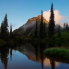 Yakima Peak Reflections by DawsonImages