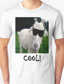 Cool White Goat T-Shirt