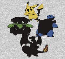 Pokémon Original Evolutions w/ Pikachu by iTzLegolas