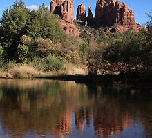 Cathedral Rock by Ann  Van Breemen