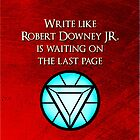 Robert Downey Jr. is Waiting by Elantris
