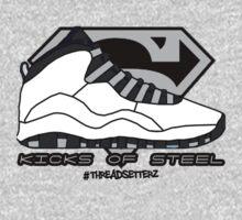 Kicks of Steel Kids Tee