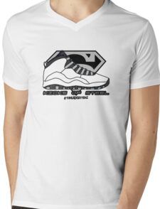 Kicks of Steel Mens V-Neck T-Shirt
