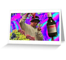 Yung lean - Hurt, Sticker Greeting Card