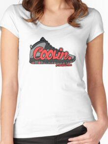 Coolin. Infared 10 Edition Women's Fitted Scoop T-Shirt